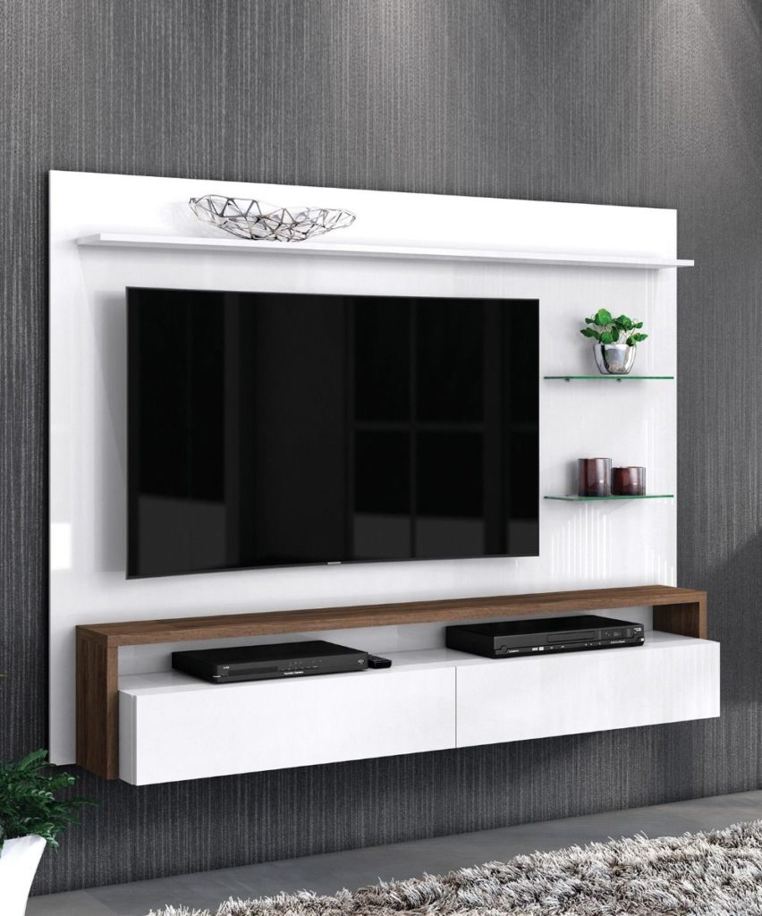 Panel Tv Toronto-Blanco Malte - 2020 Muebles
